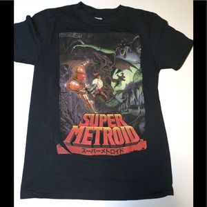 OFFICIAL Super Metroid SNES Samus vs Ridley Shirt